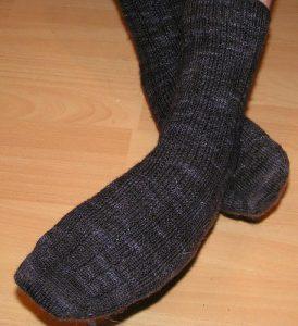 Globe Trotter knit by me