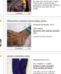 Basket Weave screenshot taken from Ravelry