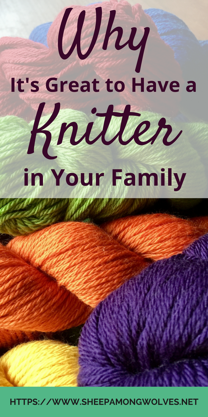 Knitting is a fun craft to do. But it is also great to have a knitter as a friend or family member! And here I tell you why a non-knitter might think so.