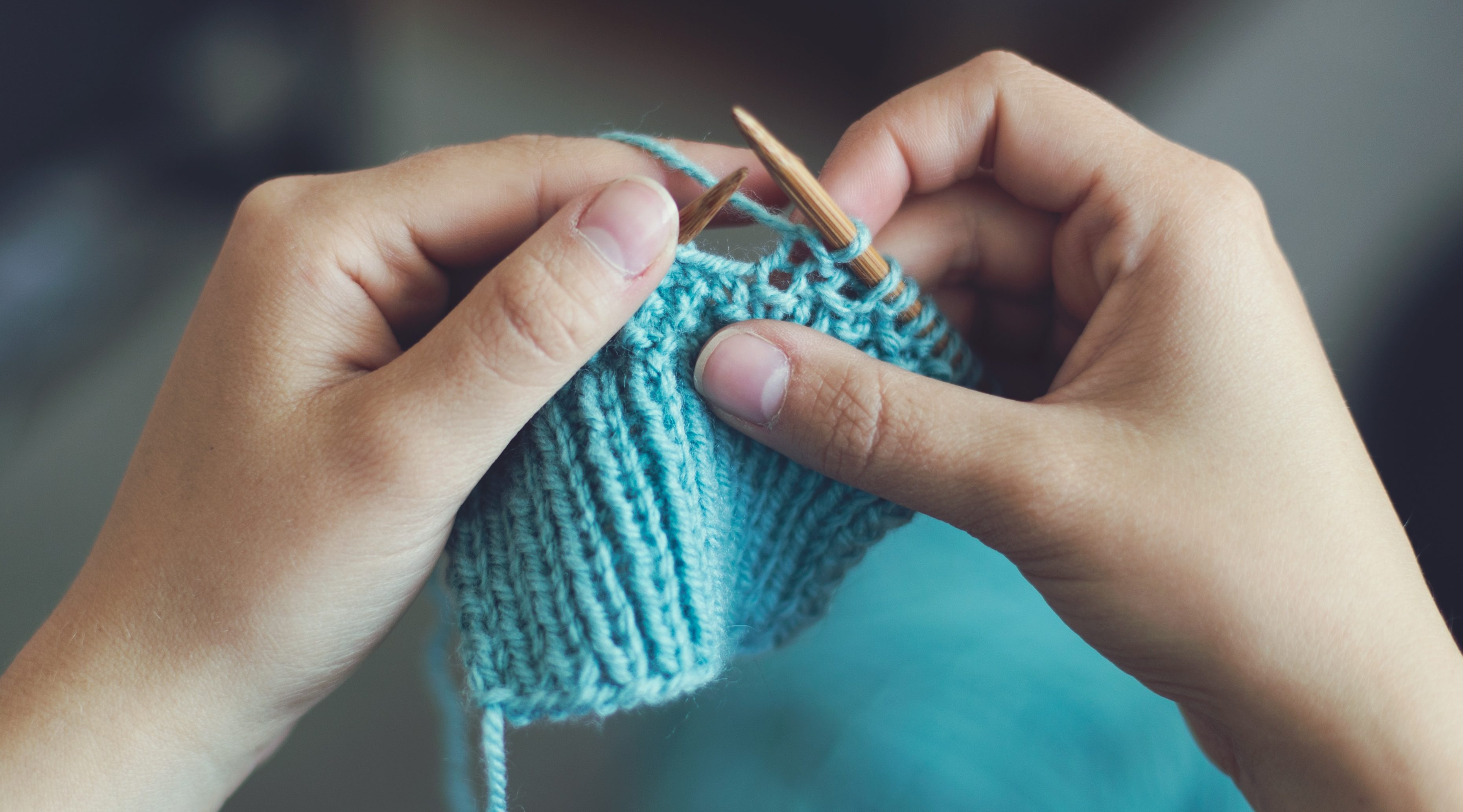 9 reasons why you should be a knitter: #1 It's relaxing and healthy!