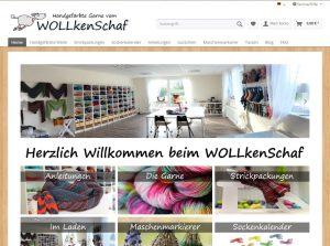 Wollkenschaf - online yarn store