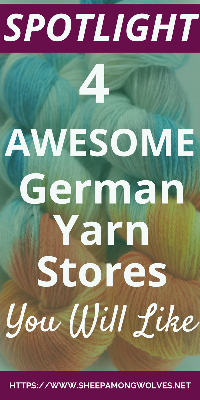 You have some extra money and don't know what to do with it? Here are 4 awesome German online yarn stores you can spend your money in.