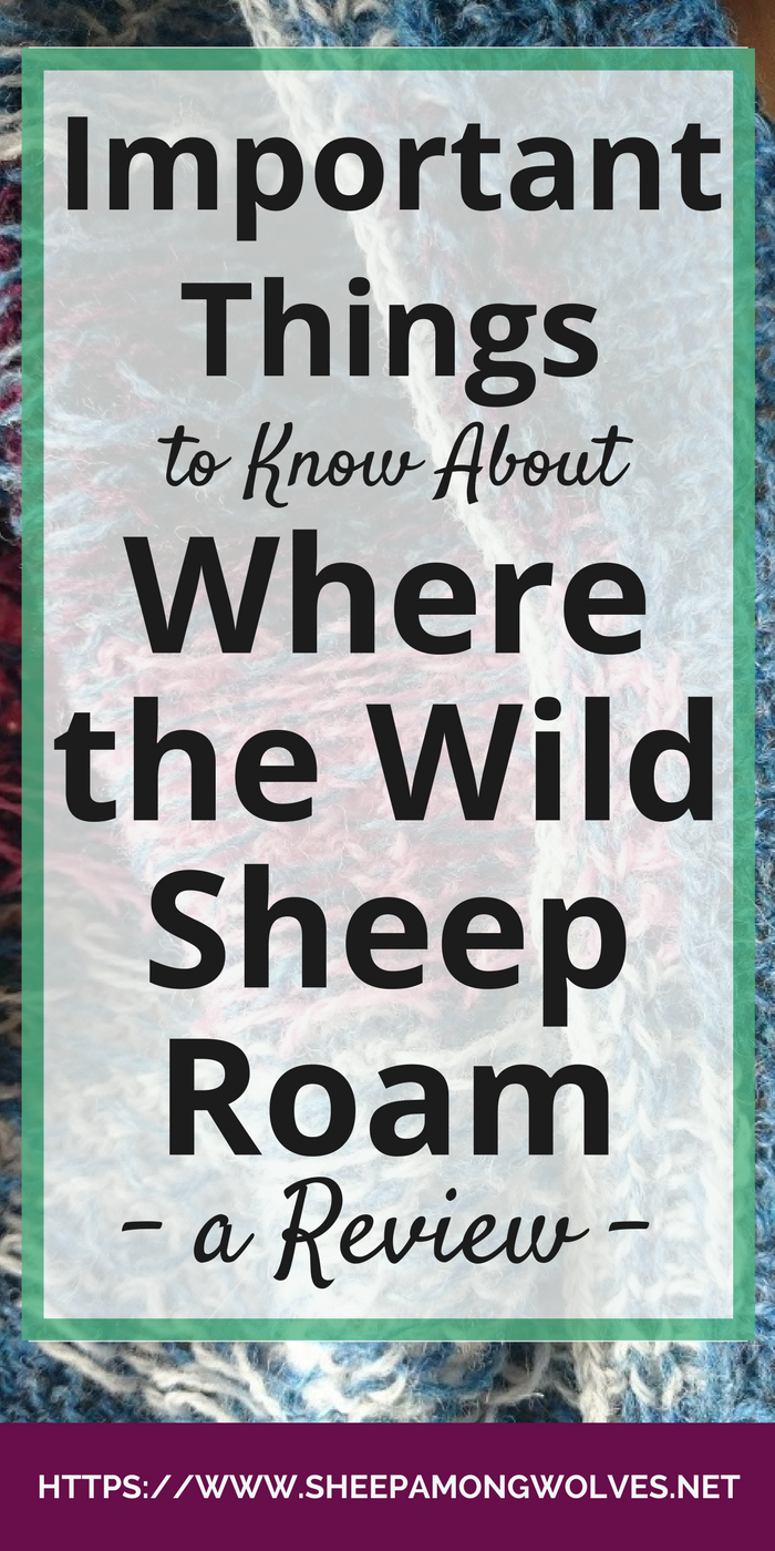 "Are you thinking about knitting ""Where the Wild Sheep Roam""? Don't know if it's for you? In this review, I tell you what you need to know before casting on."