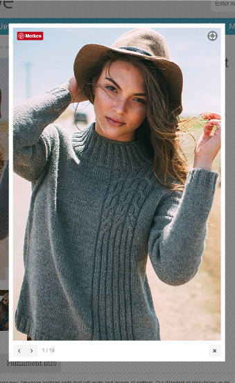 Interweave Knits Fall 2017 - All Tangled Up In Gray (screenshot taken from Interweave Website)