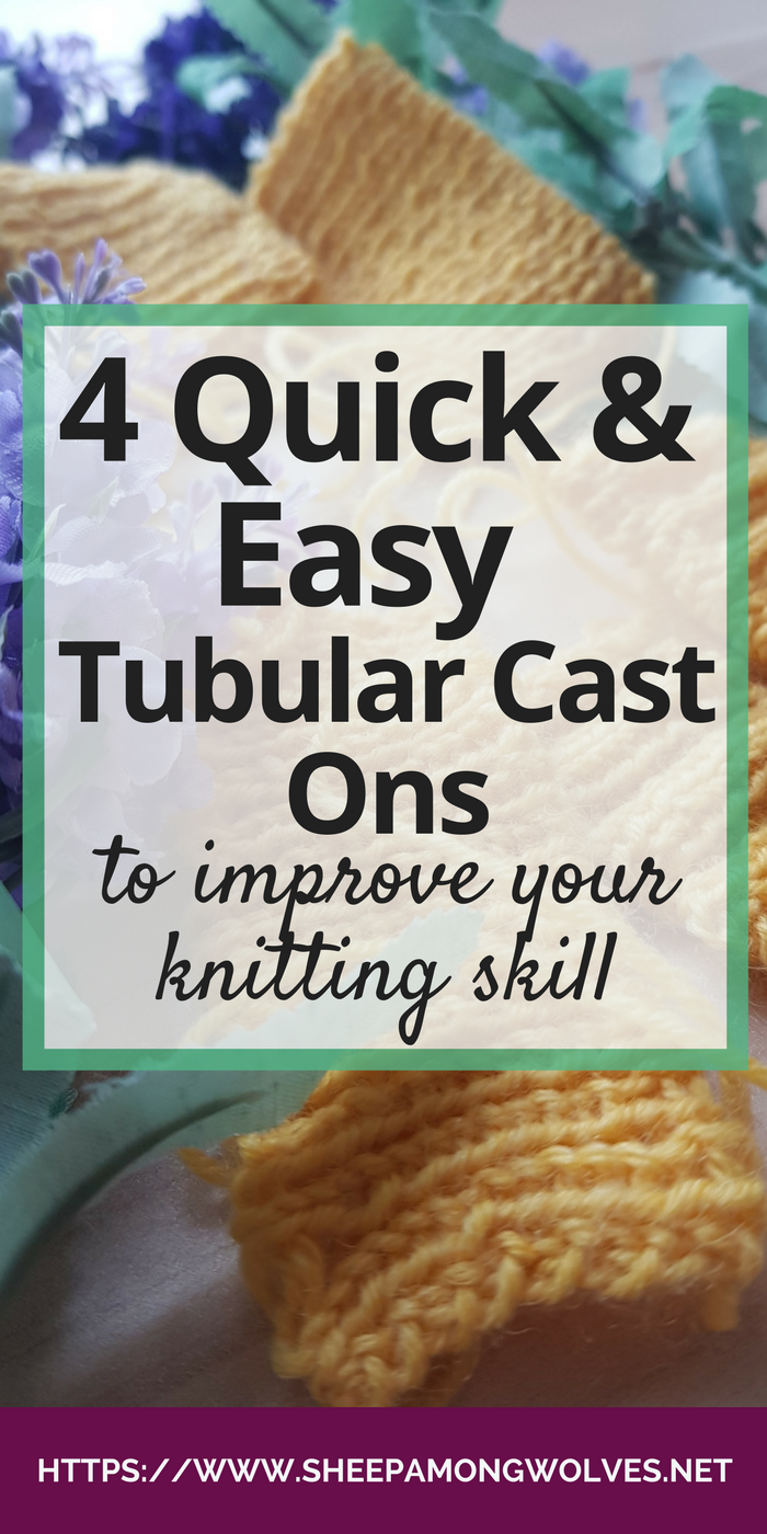 So you want a stretchy but invisible cast on? Then read on here for tubular cast ons! And as a bonus learn how to do a tubular bind-off.