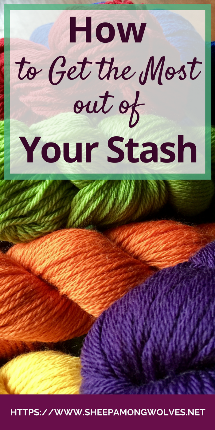 What is a knitter's stash? What can it do for us? How much is too much and how can we get more out of what we have? Click on through and find out!