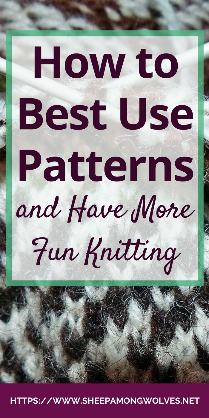 Do you often make mistakes when knitting from a pattern? Your projects don't end up the way they should? Read on for tips on how to use knitting patterns!