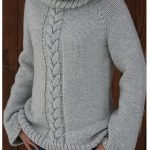 Beginner Sweaters - Top Down Cozy Sweater by Amanda Lilley (screenshot from Ravelry)