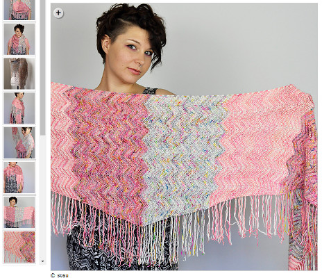 decorate your knitting - fringe