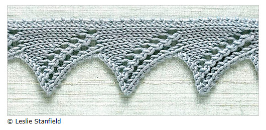 decorate your knitting - knit edge