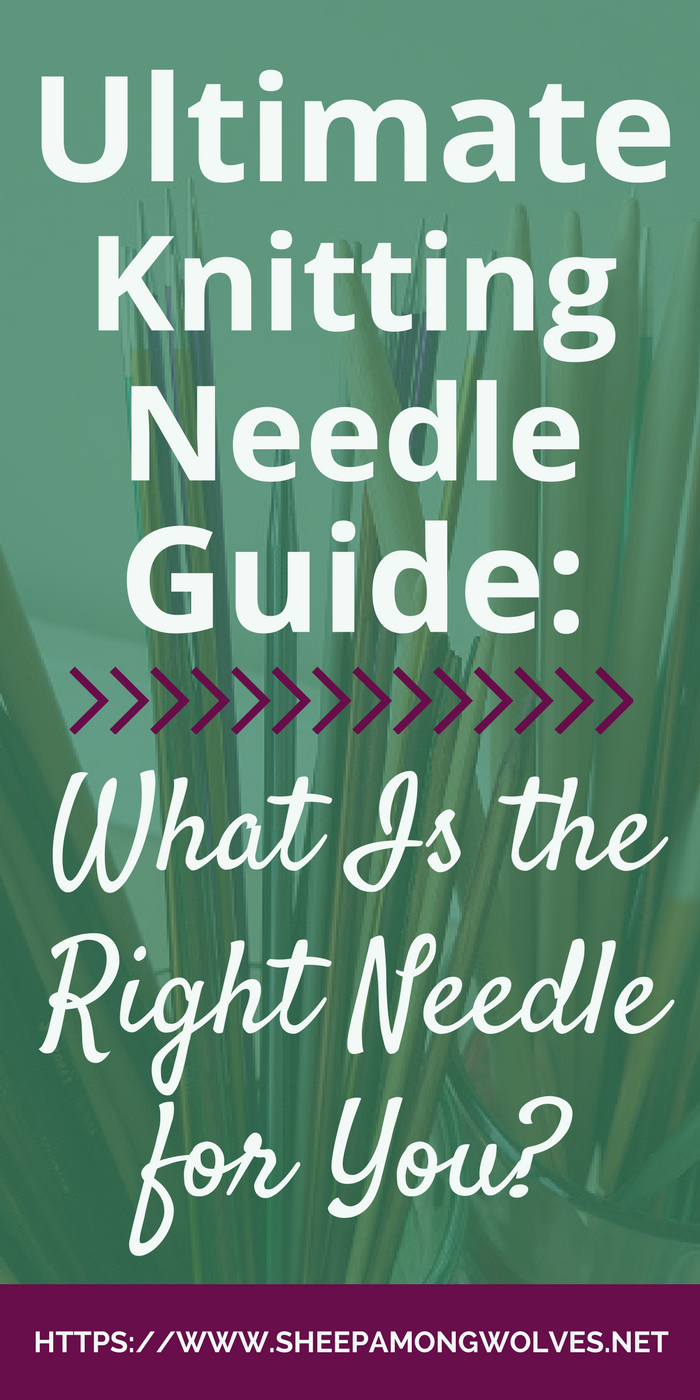 What types of knitting needles exist and what are they suited for? Which knitting needle is right for you and your next project? Read on to find out.