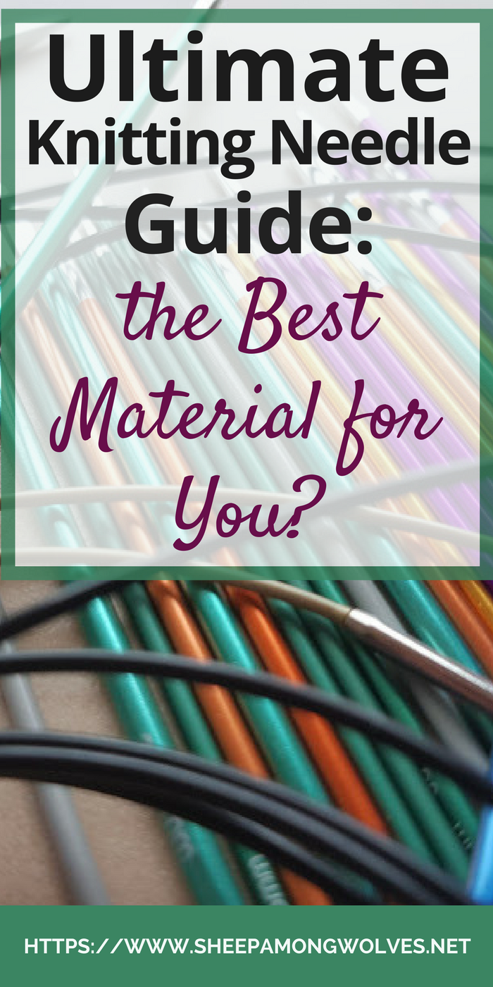 Do you wonder how the material your knitting needle is made of might help you? Click here for part 2 of my ultimate knitting needle guide!