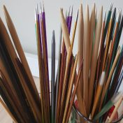 knitting needle - Double pointed needles