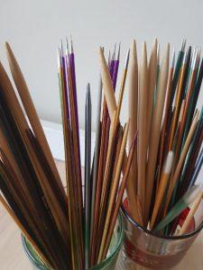 knitting needle - Double pointed needles