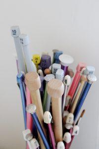 knitting needle - Straight needles / single pointed needles
