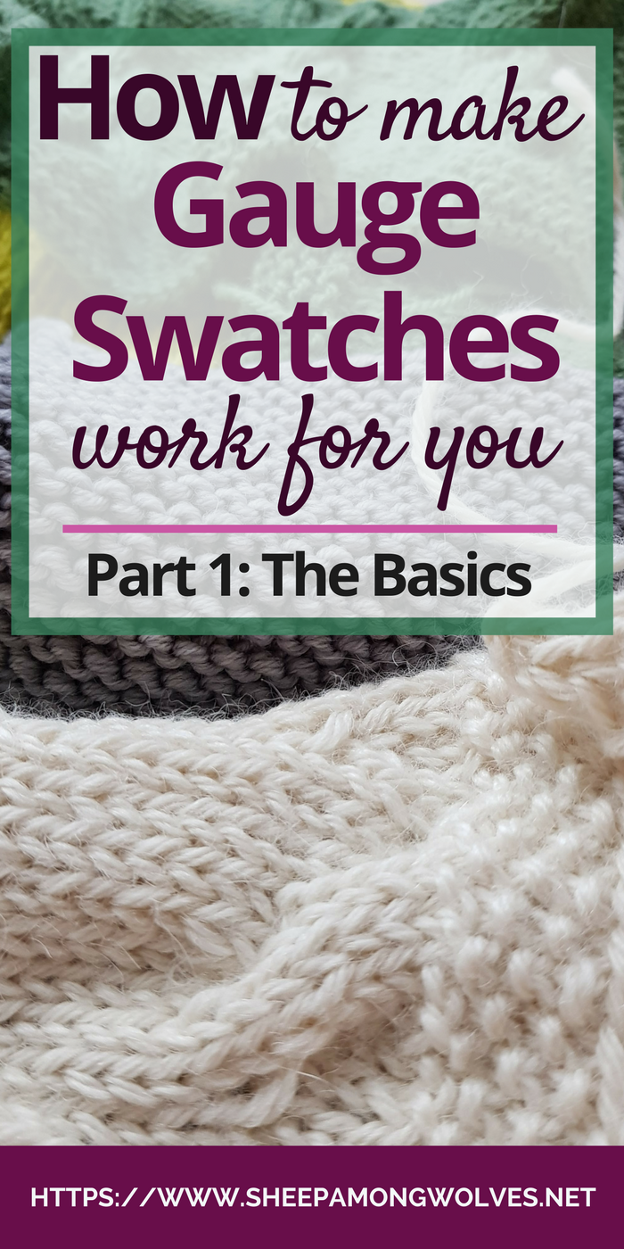 Do you hate knitting gauge swatches? Do you knit them and still end up with a sweater either too big or too small? How do you use them so that they are actually helpful? Click on through and read all about the basics of gauge swatches in this first part of my new two part series!