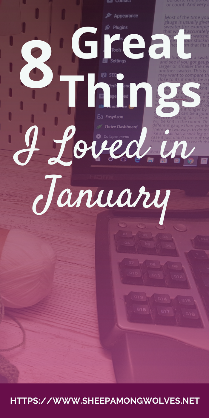 In this new monthly segment, I'll share mostly knitting related things with you that I came across the previous month and I found so exciting or loved so much I had to share it with you folks. Here you'll find patterns, yarn, other blogs and lots of other things. Click and find out which things I loved in January!