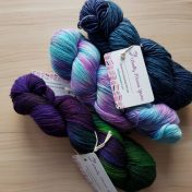 Things I loved: My Woolly Mama Yarn stash enhancement. Isn't it just gorgeous?