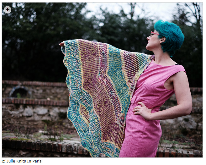spring knitting patterns - Gaga for ewe by Julie Knits In Paris