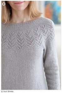spring knitting patterns - Juniper Berries by Suvi Simola