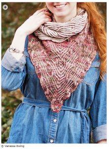 spring knitting patterns - Overture Cowl by Vanessa Ewing