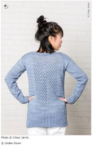 spring knitting patterns - Rainier by Linden Down