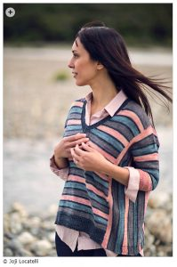 spring knitting patterns - Separate Ways by Joji Locatelli