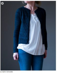 spring knitting patterns - Winterfell Cardigan by Katrin Schneider