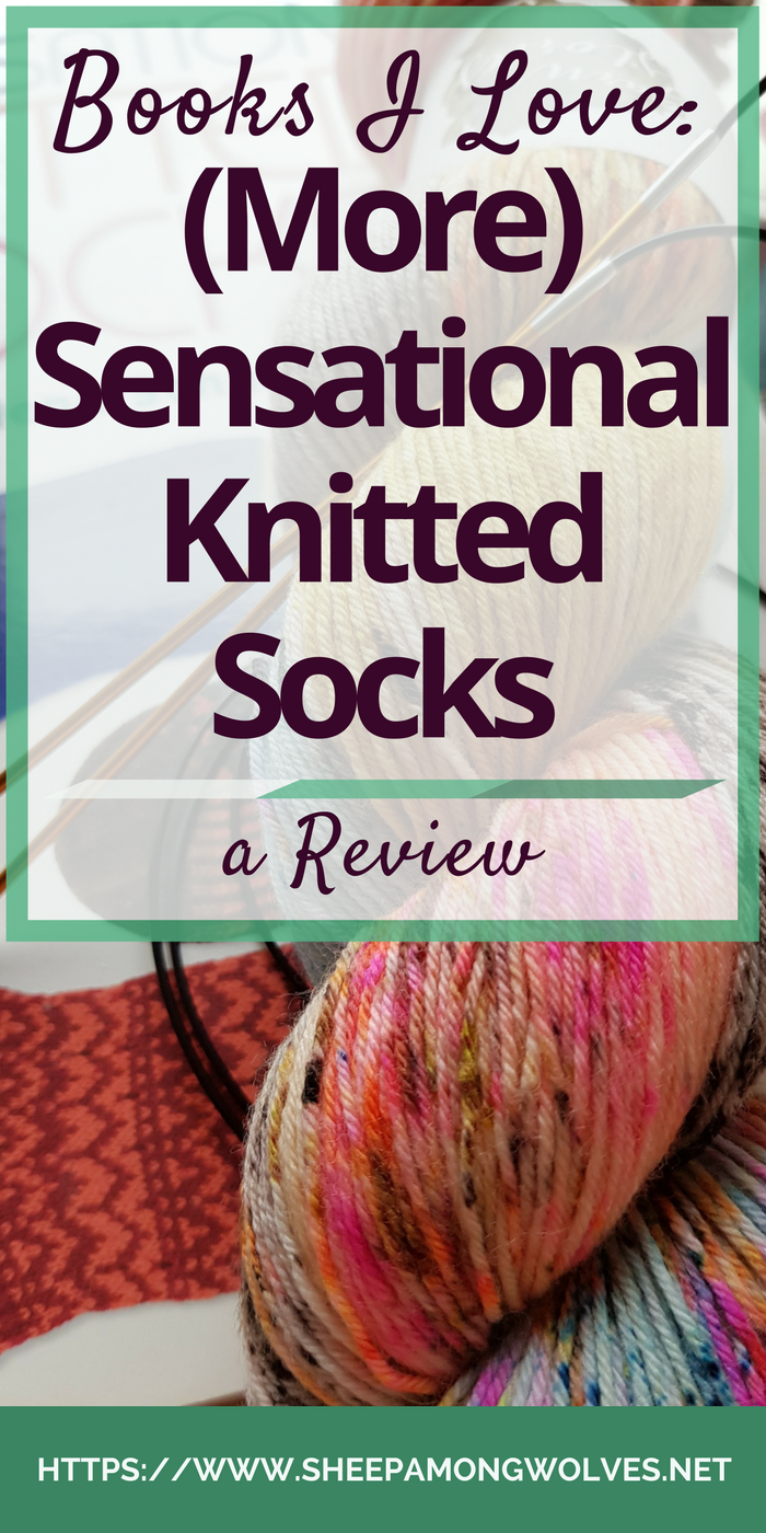 So you are a sock knitter. But you don't like knitting the same patterns over and over again? Looking for some inspiration and instructions on how to make your own? Aren't there any books for that? There are indeed and today I want to review two of them for you.