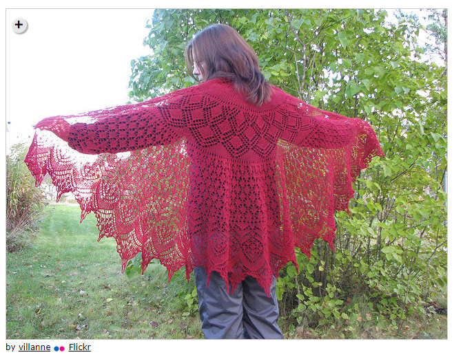 Summer shawls - Vernal Equinox Shawl Surprise by Lankakomero