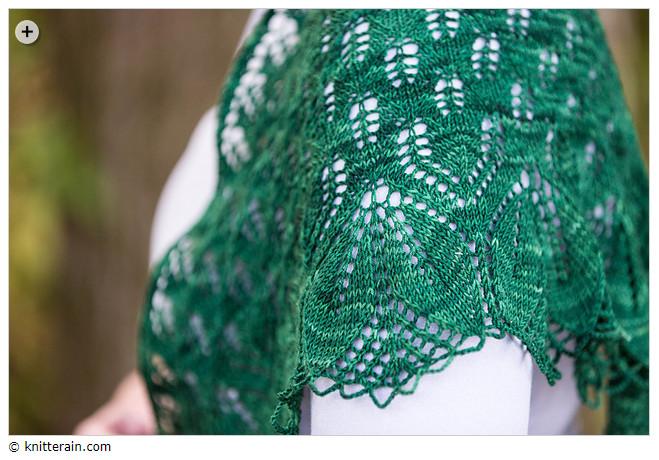 Summer shawls - Haruni by Emily Ross