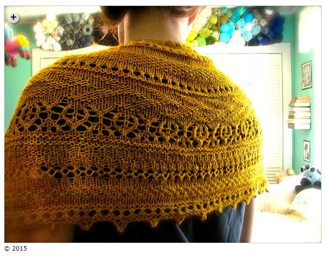 Summer shawls - Lionberry by Narniel of Endor