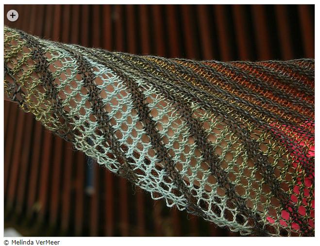 Summer shawls - Nymphalidea by Melinda VerMeer