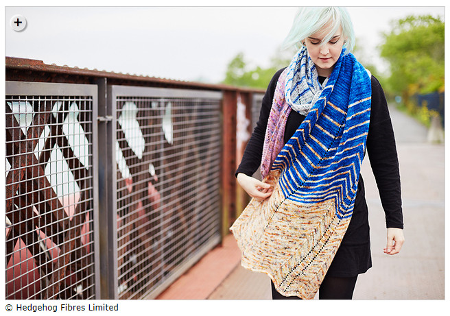 Things I loved in May - Shockwaves by Beata Jezek - This is the pattern Julie knit