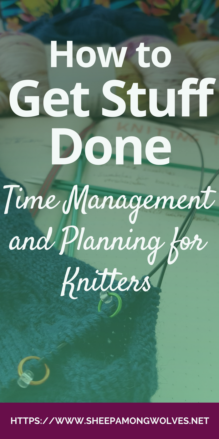 Feeling unproductive? Can't finish knitted presents in time? You might benefit from time management and planning. Enjoy these tips from a knitter and programmer!