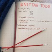 time management and project planning for knitters
