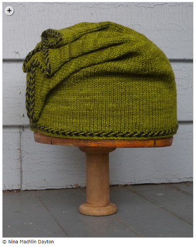 Lovely and easy hats - Dragonfly Hat by Nina Machlin Dayton
