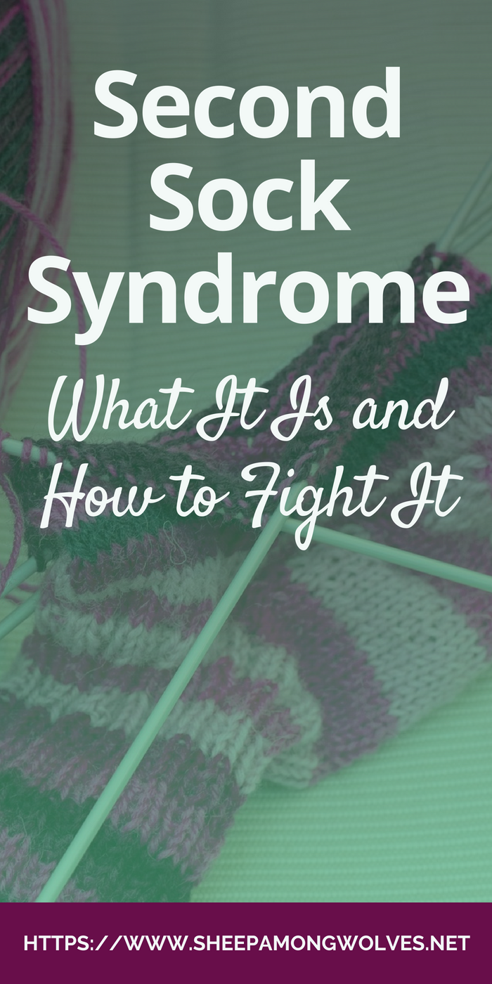 ck knitters know this beast: Second Sock Syndrome. What can you do about it? How can you fight it or cope with it? Here are 12 ideas that might help you. Click here to read more!