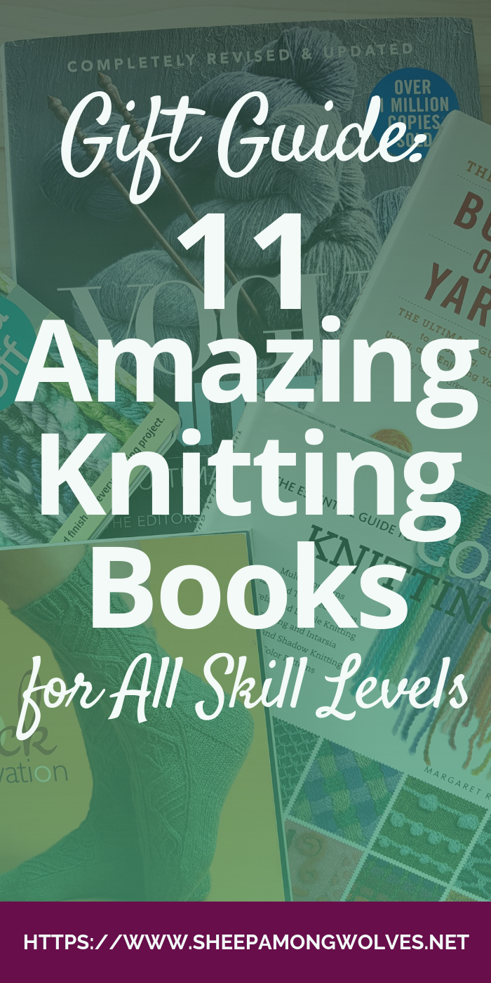 Gift giving season is drawing close. Something that almost all knitters love to receive is knitting books! Here are some of my favorites - and maybe one your favorite knitter would like as well!