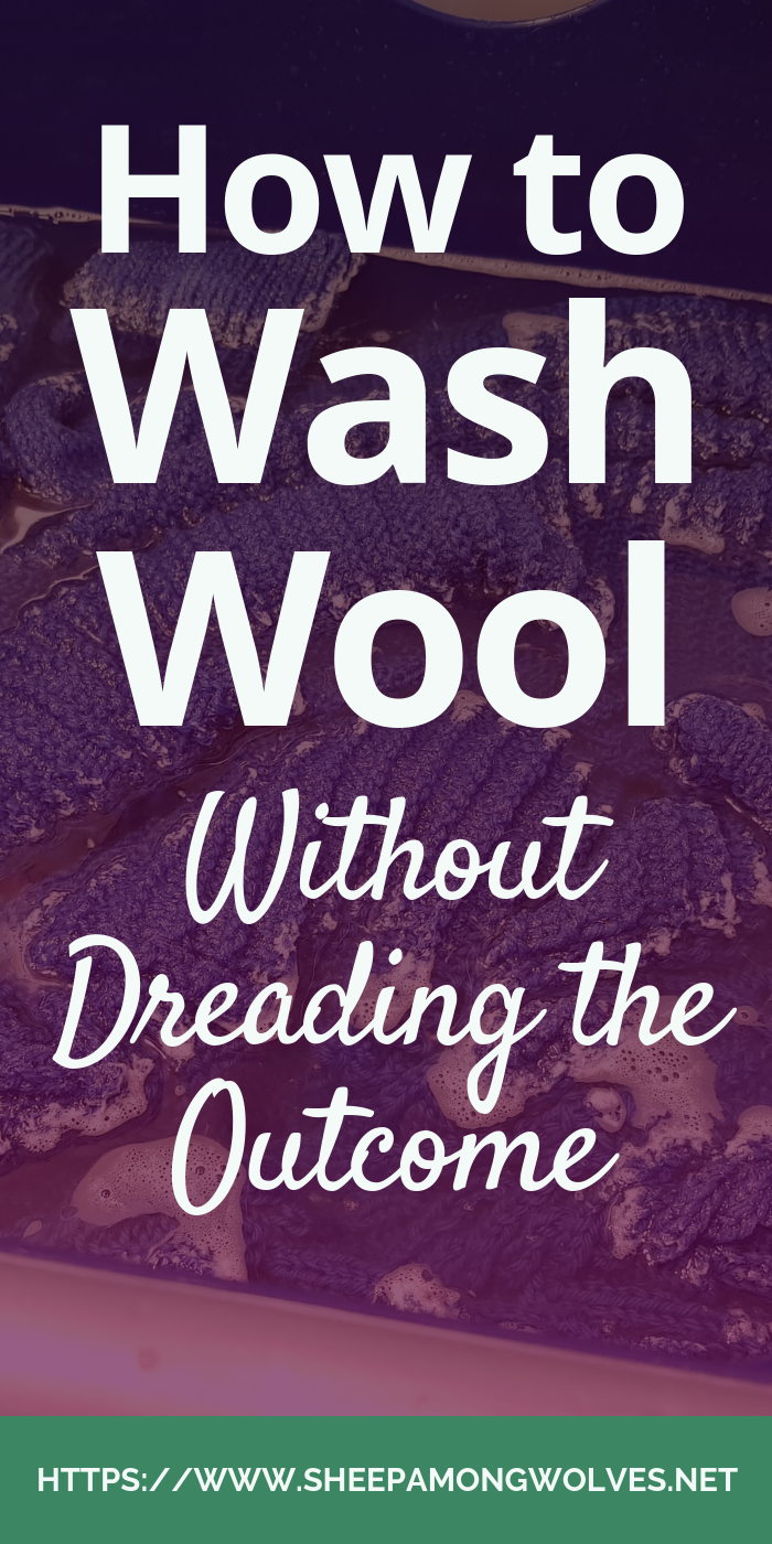 All knits have to be washed. But often knitters fear washing their items. What if they shrink? Or felt? What if we end up inadvertently destroying them? Today, I tell you how I wash wool and other fiber without dreading the outcome!